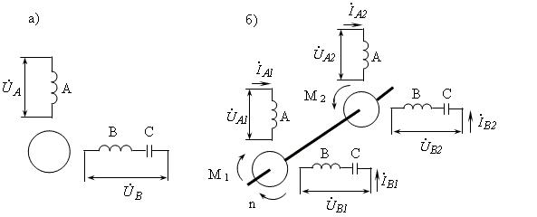Схема базовой машины (а) и ее